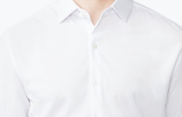 Men's Apollo Dress Shirt - White - Image 7