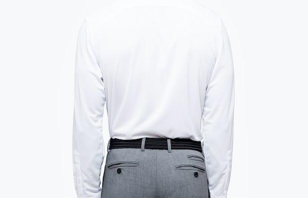 Men's Apollo Dress Shirt - White - Image 5
