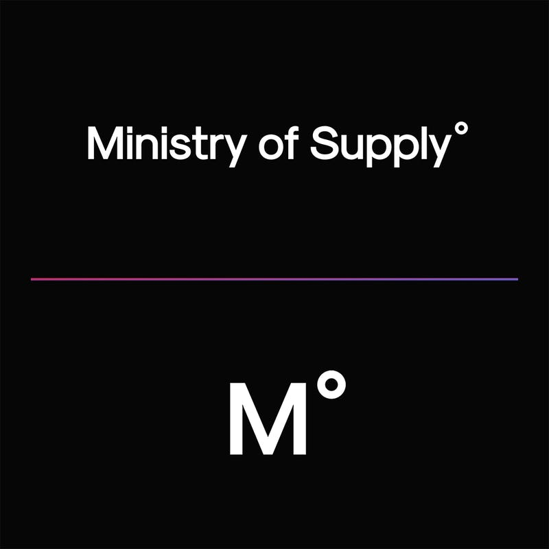 Ministry of Supply logos