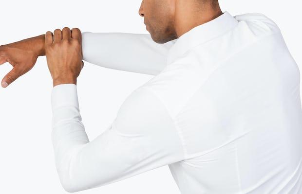 Men's Aero Zero Dress Shirt - White - Image 5