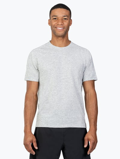 Men's Labs Active Tee - Light Grey - Image 2