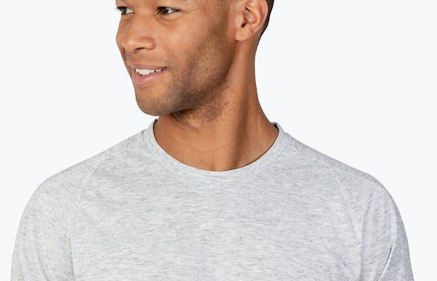 Men's Labs Active Tee - Light Grey - Image 5