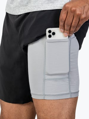 Men's Labs Active Shorts - Black - Image 7