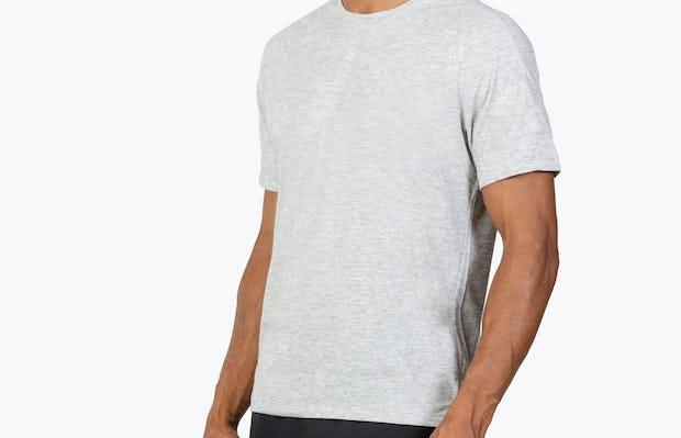 Men's Labs Active Tee - Light Grey - Image 3