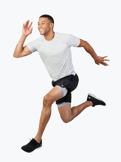Men's Labs Active Shorts - Black - Main Image