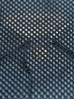 Black Aer packing cube mesh top