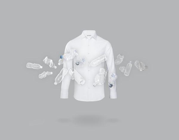 Men's Aero Zero Dress Shirt - White - Image 1