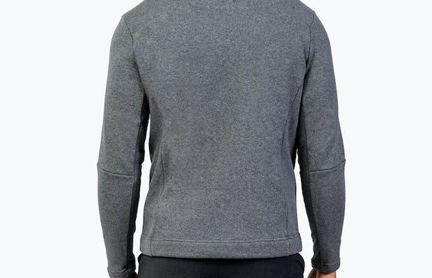 Men's Hybrid Fleece 1/4 Zip - Grey - Image 6