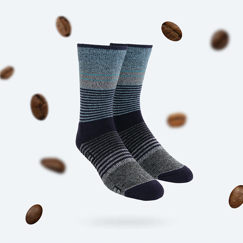 Coffee-infused Socks