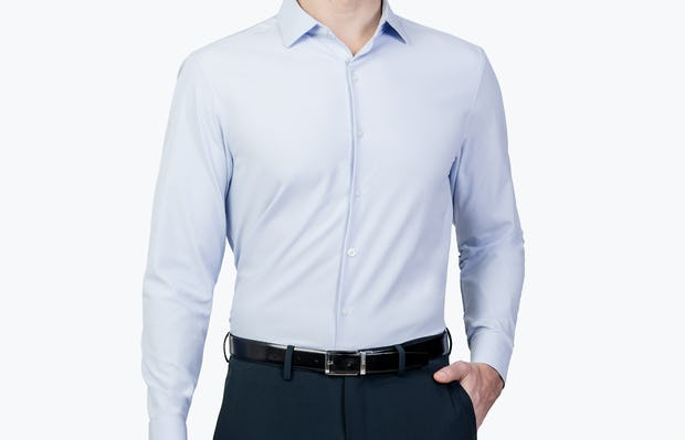 Men's Aero Zero Dress Shirt - Light Blue - Image 7