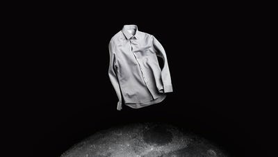 Men's Apollo Dress Shirt in Space