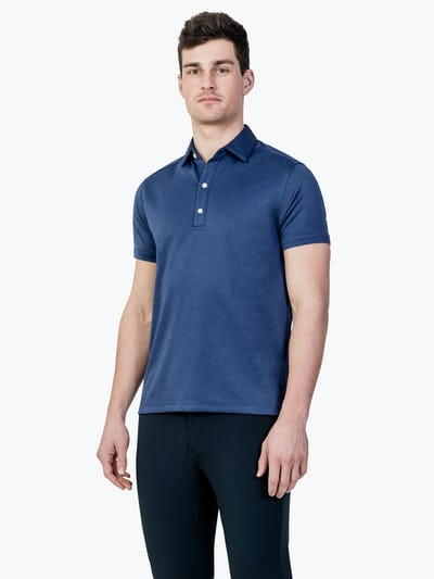 Apollo Polo Navy Oxford Banner