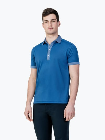Apollo Polo Royal Blue Tipped Banner