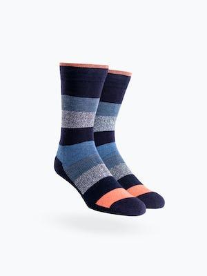 Atlas Dress Sock - Static Waves - Main Image
