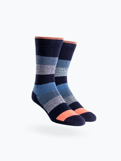 Static Waves Atlas Dress Socks