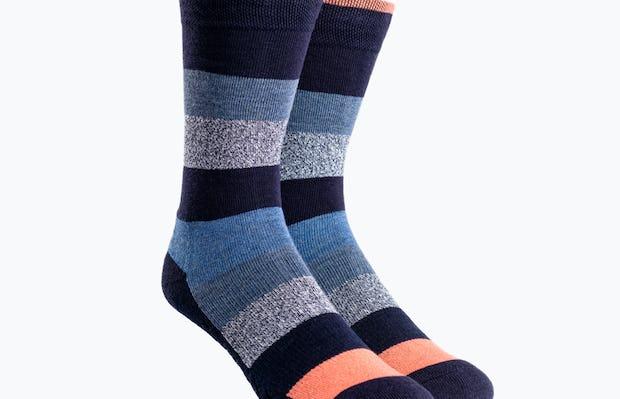 Static Waves Atlas Dress Socks