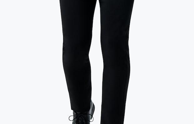 Men's Black Velocity Suit on Model Walking Backward