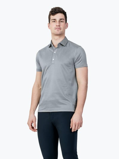 Apollo Polo Grey Heather