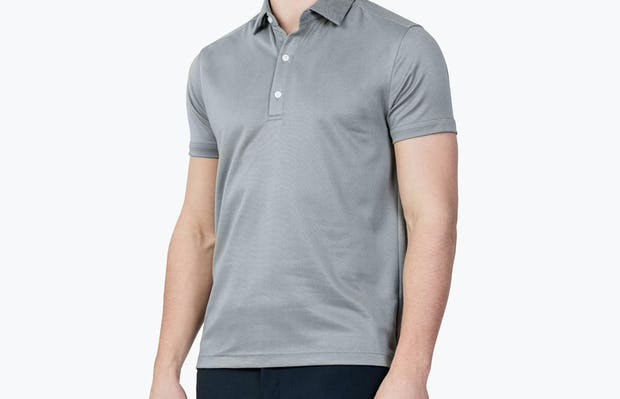 Apollo Polo Grey Heather - Image 2
