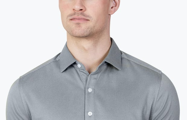 Apollo Polo Grey Heather - Image 5