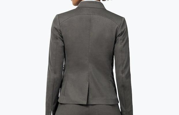 Women's Kinetic Blazer Charcoal Heather - Image 2