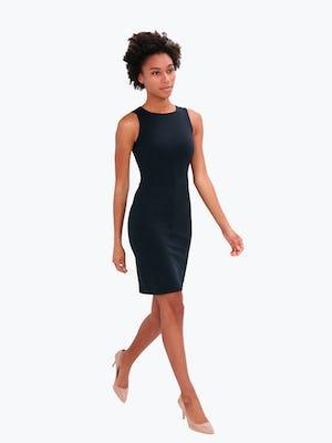Kinetic Sheath Dress Black - Image 6