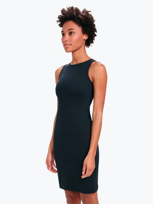 Kinetic Sheath Dress Black - Image 2