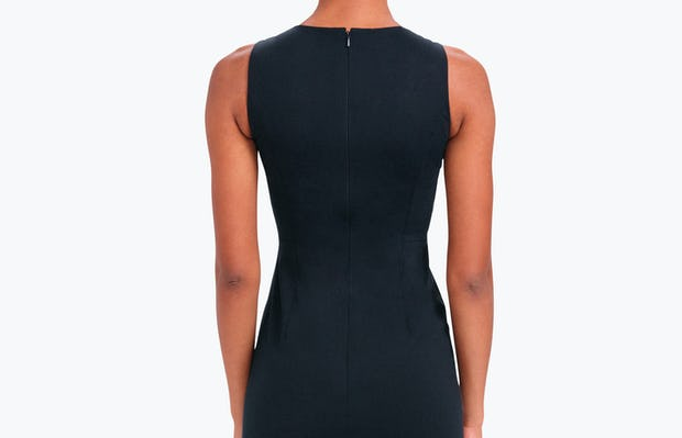 Kinetic Sheath Dress Black - Image 3