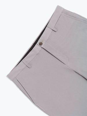 Men's Light Grey Momentum Chino Shorts in Close-Up Waistband
