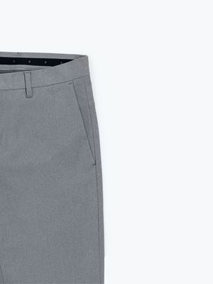 Close up of Men's Grey Heather Kinetic Pants side pocket