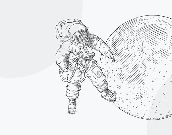 Illustration of Spacesuit