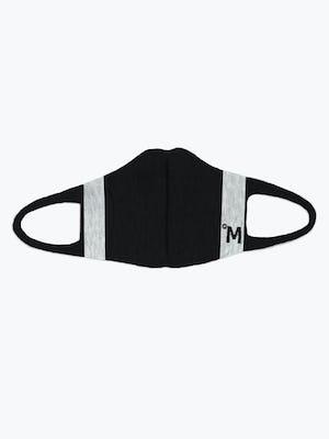 3d print-knit mask 2.0 black off model showing inside of mask