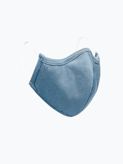 Slate Blue Heather Apollo Mask Side View