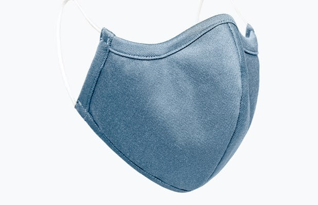 Slate Blue Heather Apollo Mask Side View