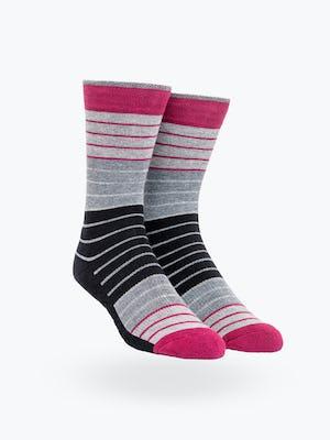 Black Ankle Stripes Atlas Socks