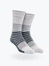 Grey Stripe Gradient Atlas Dress Sock