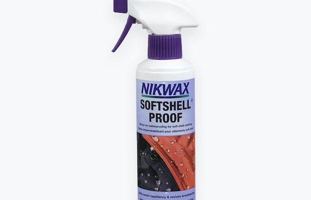 nikwax softshell proof bottle