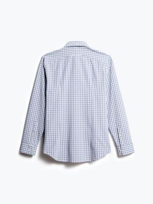 men's midnight stripe plaid aero zero dress shirt back