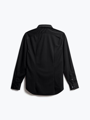 men's black apollo dress shirt back