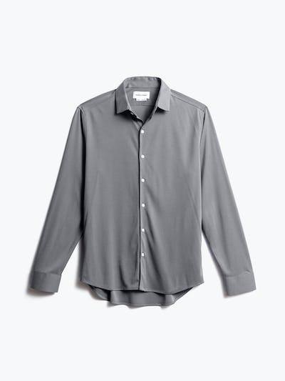 men's granite oxford brushed apollo dress shirt front