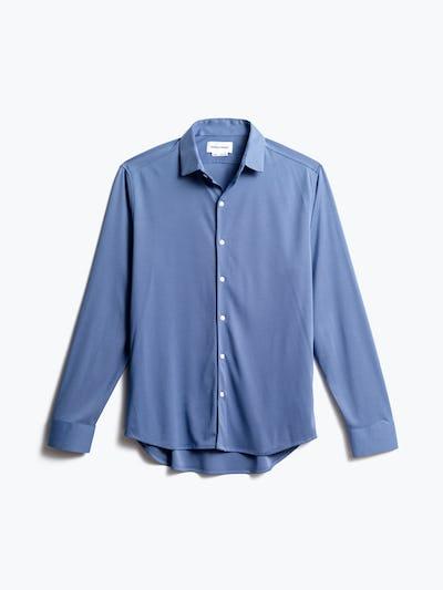 men's ocean oxford brushed apollo dress shirt front