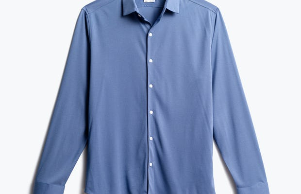 men's ocean oxford brushed apollo dress shirt front