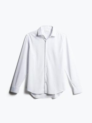 men's white apollo dress shirt front