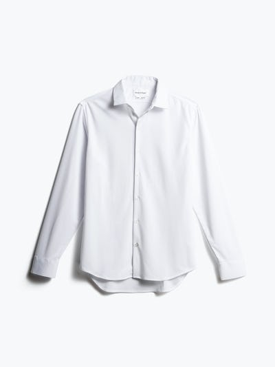 men's white apollo dress shirt front