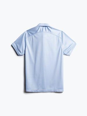 men's blue degree print apollo polo back