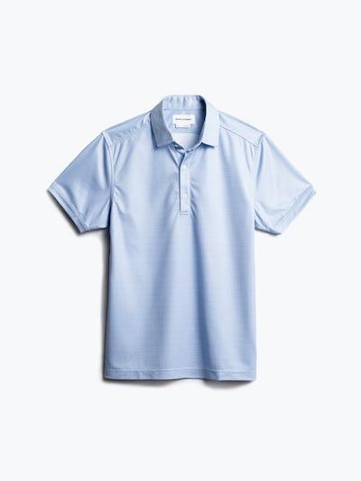 men's blue degree print apollo polo front