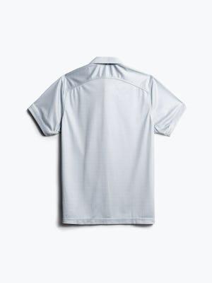 men's grey degree print apollo polo back