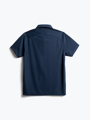 men's navy apollo polo back