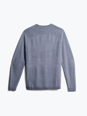 men's indigo static atlas sweater back