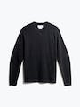 men's charcoal static atlas sweater v neck front